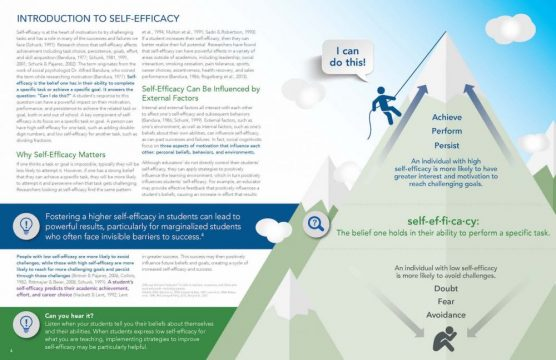 Sample page from Inspiring Courage to Excel through Self-Efficacy Toolkit