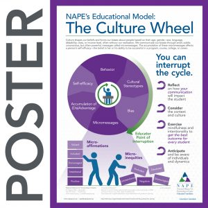 NAPE's Culture Wheel Infographic Poster