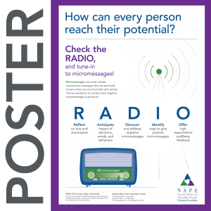 NAPE's Check the RADIO Poster