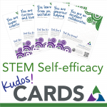 NAPE STEM Self-efficacy Kudos Cards